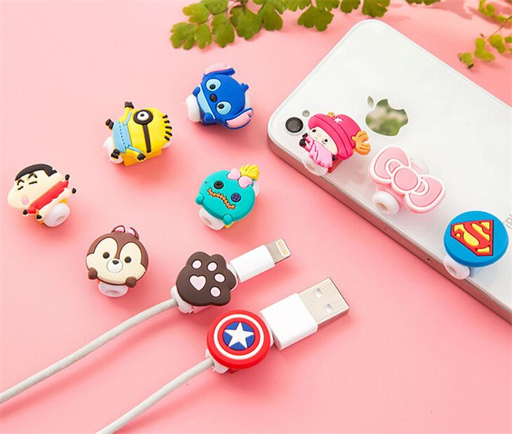 Cable Protector USB Cord Winder Protective Cover Cartoon Cute Protect Stitch For iPhone 5 5s 6 6s 6s plus iPad Cable #>=#>=#>=#>=#> Click on the pin to check out discount price, color, size, shipping, etc. Save and like it!