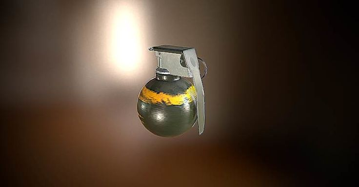 M67 grenade, Modo :) on ArtStation at https://www.artstation.com/artwork/6w9d6