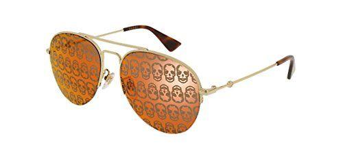 1ca816215 NEW Gucci GG 0107 S- 002 GOLD ORANGE Sunglasses any good