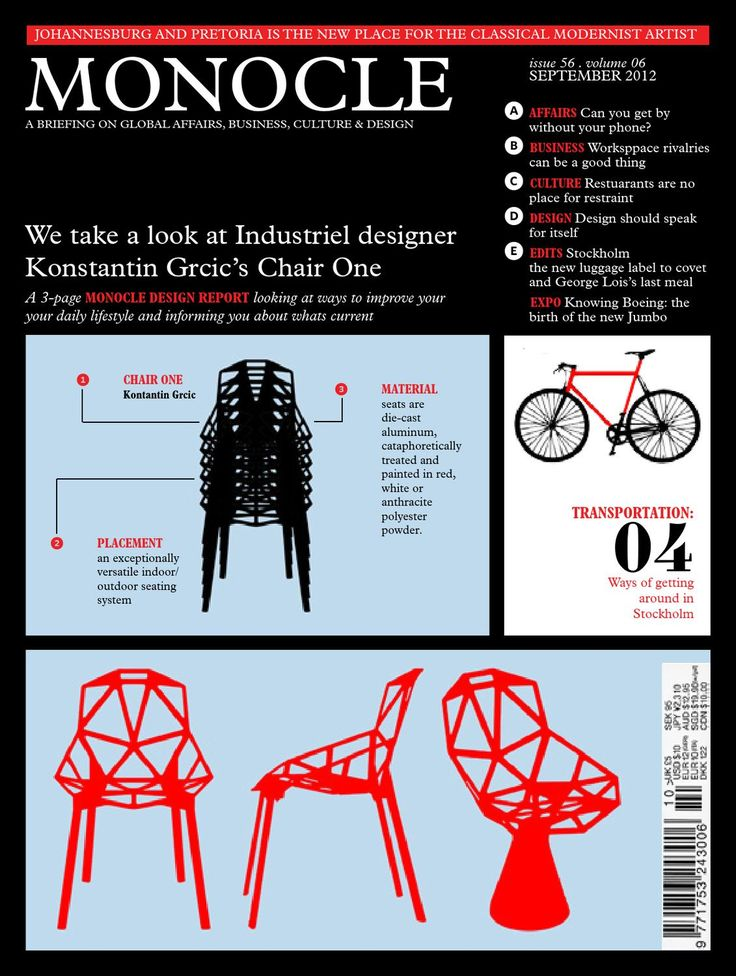 Monocle  Monocle Magazine Layout