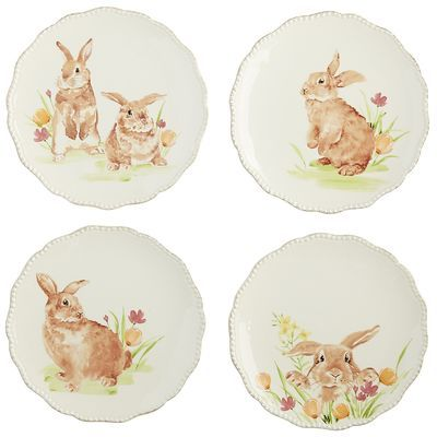 What better way to create a spring inspired place setting than with a