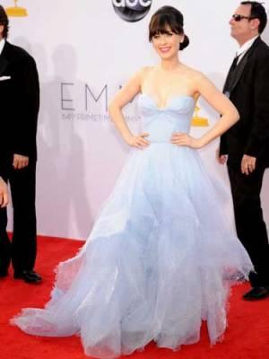Our 2012 Emmys Best-Dressed List - Zooey Deschanel #Emmys