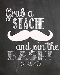 grab a stache...free mustache party prints #freeprint #mustacheprint…