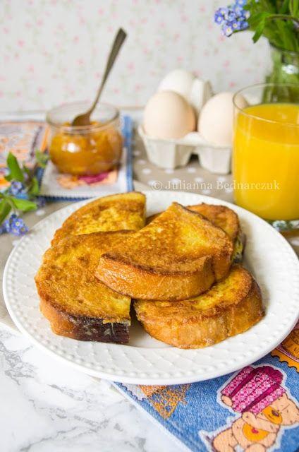 Obiad gotowy!: Pain perdu - tosty francuskie