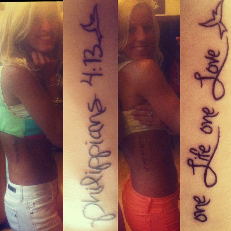 One love one life tattoo ideas for One love tattoo designs