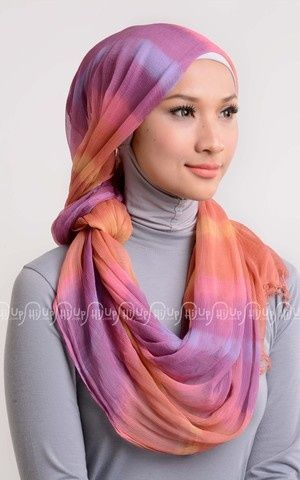 Silk Crinkle Shawl Jumputan by Dian Pelangi