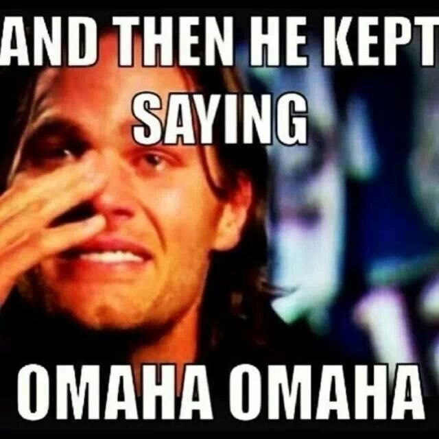 "Tom Brady Losing to Manning and the Broncos while Manning said ""Omaha"" 31 times pre-snap"