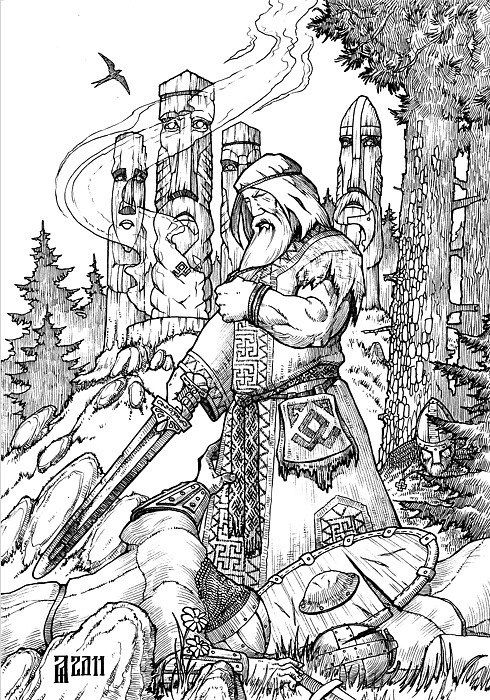 6307 best god save us from the northmen images on for Norse mythology coloring pages