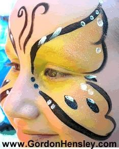 Bumble Bee Face Painting | Face Painting