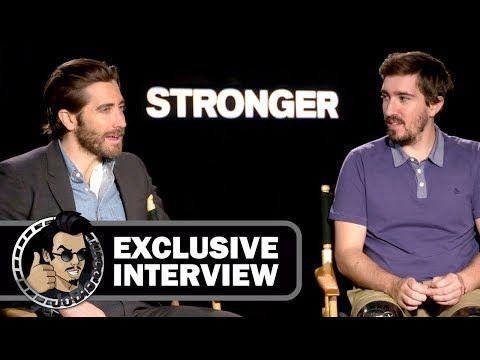 Jake Gyllenhaal & Jeff Bauman STRONGER Exclusive Interview (JoBlo) TIFF 2017 - YouTube