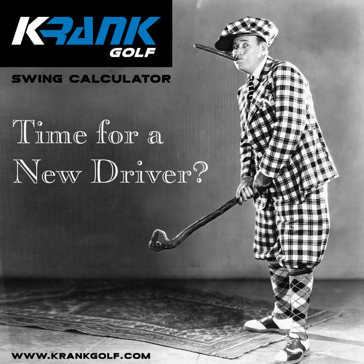 Time for a new driver? Want more distance? See what you should be hitting in minutes with our FREE Swing Calculator! https://krankgolf.com/#swing-q  Krank Golf home of the world's fastest, farthest hitting driver with 20 world long drive world championships. Visit Krank Golf at: https://krankgolf.com  #krankitup #krank #krankgolf #pgatour #golfer #pga #wwd  #golfsale #golfdrivers #golfclubs #golfproducts #longdrive