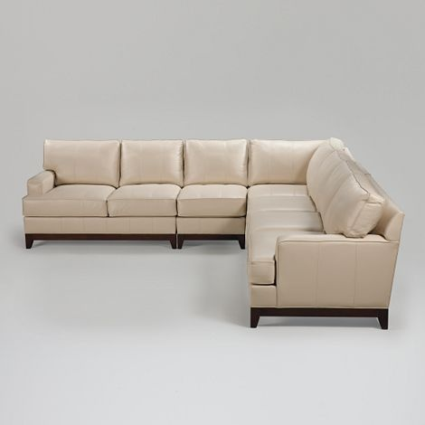 Ethan Allen Sectional Sofas Leather Images