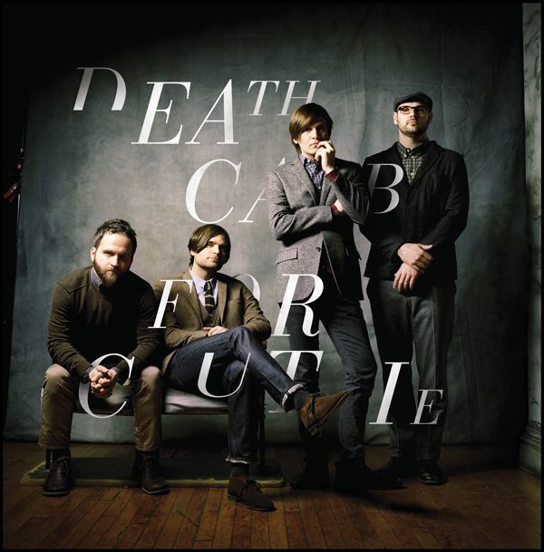 Love the use of type! Death Cab For Cutie - Jesse Penico | Graphic Designer