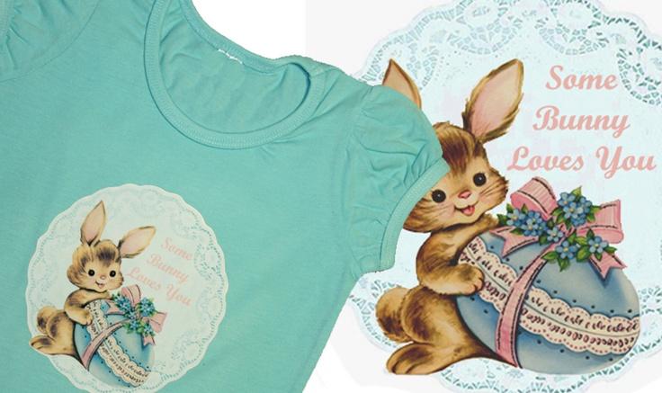Some Bunny Loves You, Easter Tee  http://www.madeit.com.au/storecatalog.asp?userid=38690
