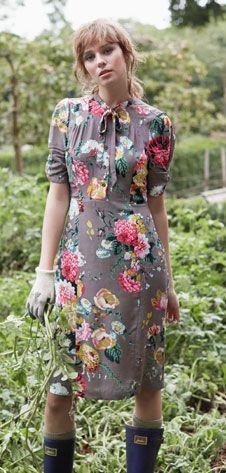 Joules floral dress