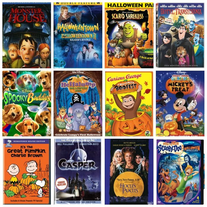 The Best Kids Halloween Movies - Miss Information