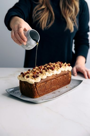 Craisin Spiced Carrot Cake with Cream Cheese Frosting   Gather & Feast