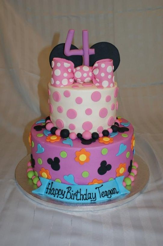 1000 Images About Mickey Amp Minnie Mouse Cakes On