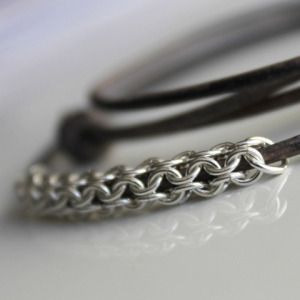 Chainmaille-925maille #chainmaille #jewelry-making