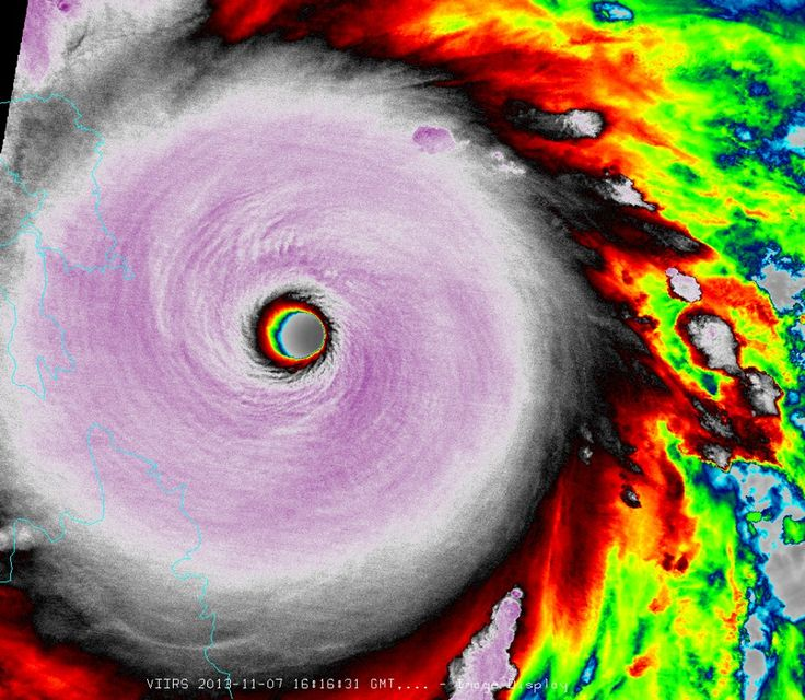 Super typhoon Haiyan, among the strongest storms to form on Earth in modern times, is exiting the Philippines
