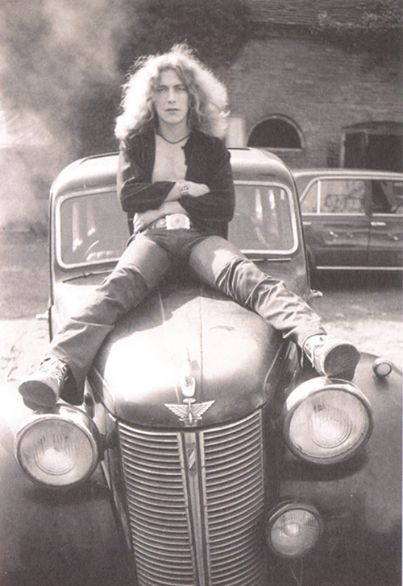 Robert Plant. Young and proud of it.