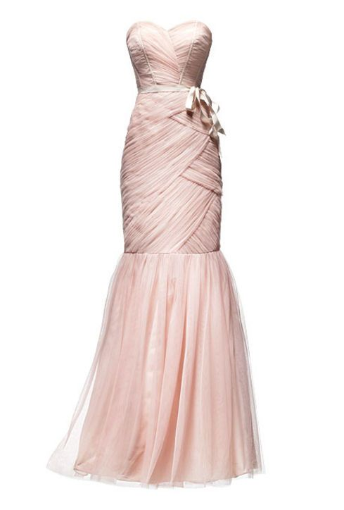 The Pale Pink Bridesmaid Dresses You Could TOTALLY Wear as Your Wedding Dress! (It's Just $448!)