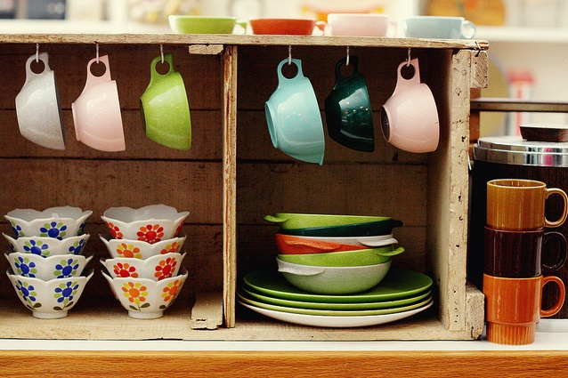 62 Best Fiestaware Display Ideas Images On Pinterest
