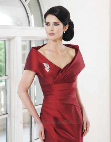 Mother Of The Bride Red Dress For Sale