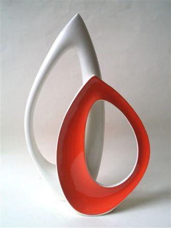 Midcentury Modern Ceramic Art by  Vibi Torino Italy  1955