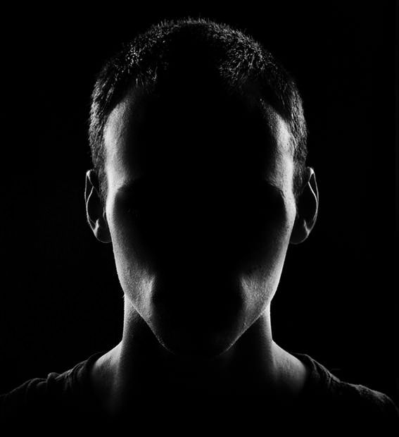 Faceless Portraits With Low-Key Lighting