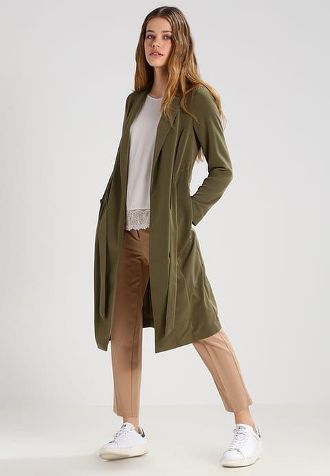 Miss Selfridge Trenchcoat - dark green - Zalando.no