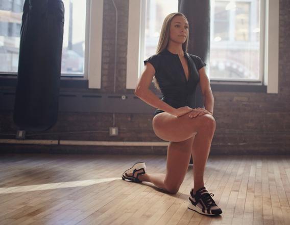 Hip Flexor/Quadriceps Stretch A