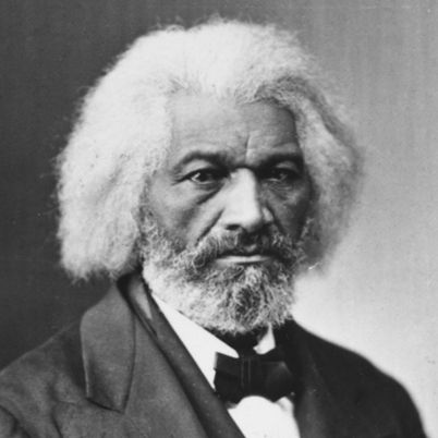 Frederick Douglass, a former slave and eminent human rights leader in the abolition movement, was the first black citizen to hold a high U.S. government rank.