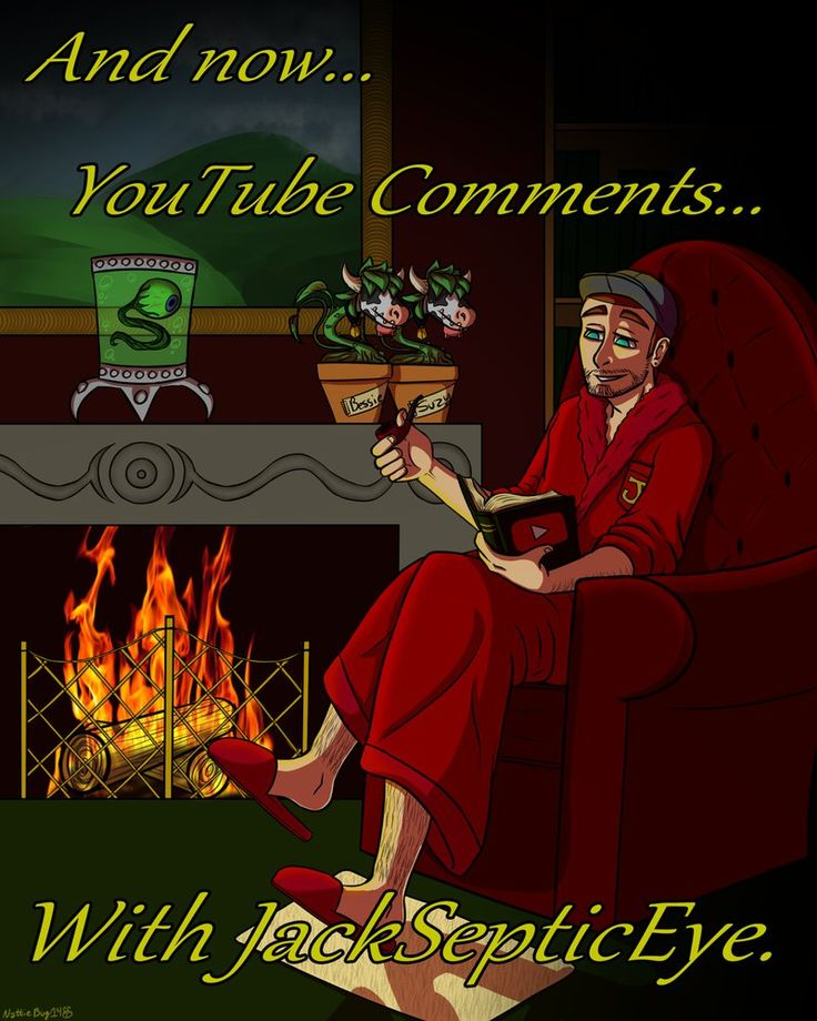 Reading Your Comments by Nattie-Bug on DeviantArt #jacksepticeye