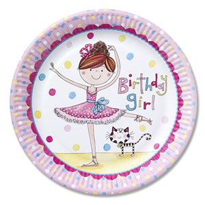 Q50890 - Rachel Ellen Ballerina Plates. Please note: approx. 14 day delivery time. www.facebook.com/popitinaboxbusiness