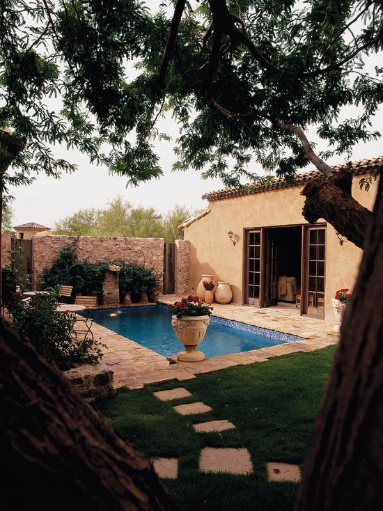 37 best spanish garden images on pinterest   spanish colonial ... - Spanish Style Patio Ideas
