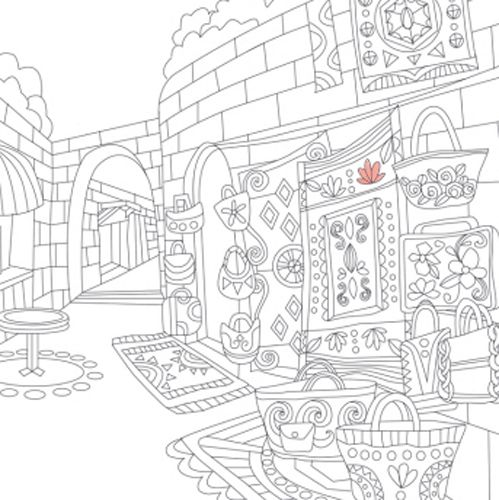 creative coloring book for adults