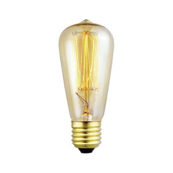 Becuri edison EDISON VINTAGE 60W/E27/230V DECORATIV 49501 EGLO.49501