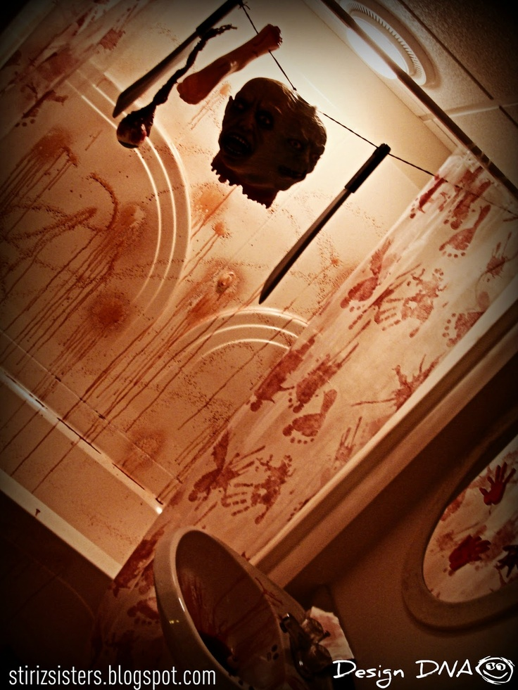 27 best haunted circus ideas images on pinterest for Haunted bathroom ideas