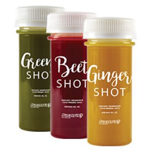 Try one of our Wellness Shots today! A concentrated boost of antioxidants, vitamins, and minerals, all shots contain the Zingiber officionale plant (Ginger Root) and the Curcuma long plant (Turmeric Root), which have been used for thousands of years to help fight inflammation, gastrointestinal...