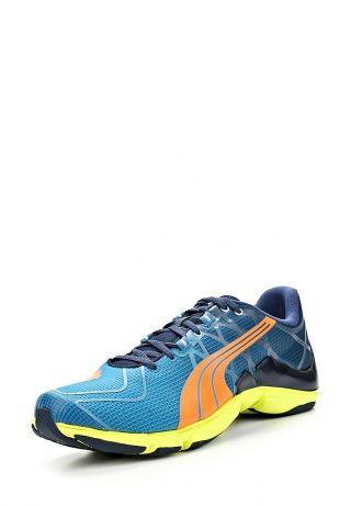 Мужские кроссовки от Puma - это стильная и удобная спортивная обувь. Модель выполнена из плотного текстиля. Детали: подъем дополнен шнуровкой, усиленный мыс, гибкая контрастная подошва. http://j.mp/1pPdvxE