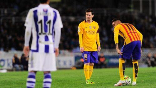 La Liga: Barcelona lose as Madrid clubs win #FCBarcelona... #FCBarcelona: La Liga: Barcelona lose as Madrid clubs win… #FCBarcelona