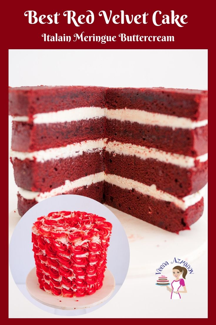 A Light And Airy Butter Based Red Velvet Cake Is Perfect For A Dessert Or Celebration Cake Frost It W Velvet Cake Recipes Red Velvet Cake Recipe Cake Recipes