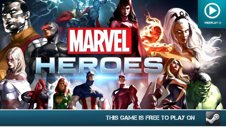 Marvel Heroes - Free for Steam (PC) - HD Gameplay
