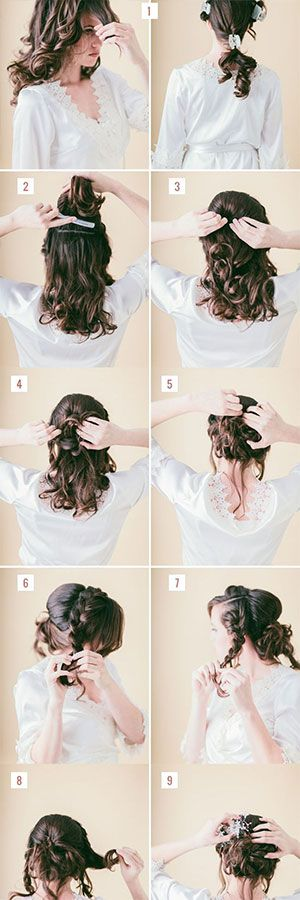 Easy Prom Updos; Hair Style Tutorials