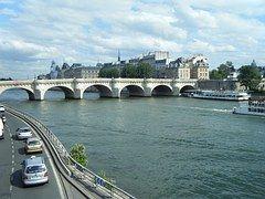 Puente, El Río Sena, París, Francia, Río