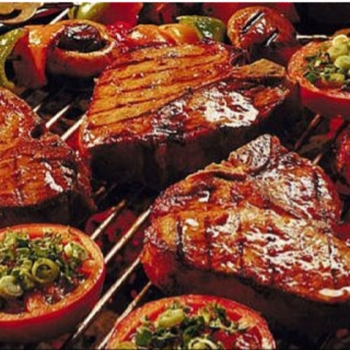 South African Braai and Pinotage: http://www.winewizard.co.za/wine/pinotage/red/allee-bleue-wines-starlette-pinotage-1/