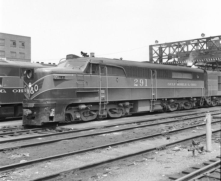 GM&O Alco PA, St. Louis, Missouri, June 3, 1957.