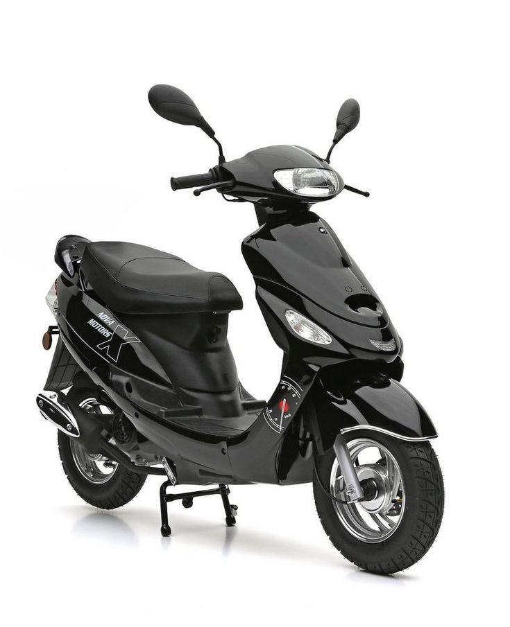 Nova Motors Motorroller 49 Ccm 45 Km H Schwarz City
