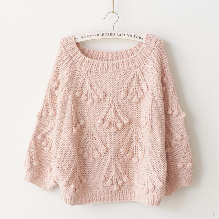 sweater una pieza dos agujas - Buscar con Google
